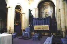Location of the Shroud after the 1998 Exhibition