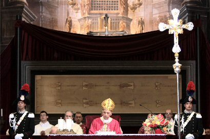 The Holy Mass in the Cathedral on May 23, 2010